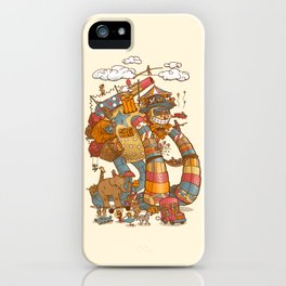 Circusbot iPhone Case