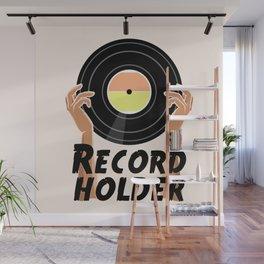 Record Holder Vinyl Wall Mural