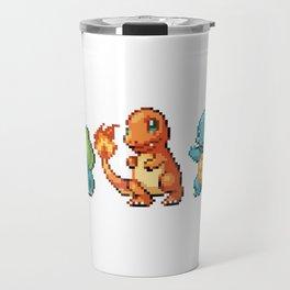 First Gen - Pixel Art Travel Mug