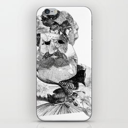 Portrait of a Man with Beard iPhone Skin