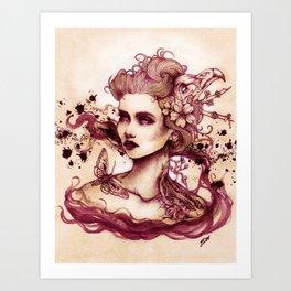 Sanguina Art Print