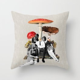 Upper Class Dealer Throw Pillow