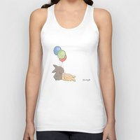 balloons Tank Tops featuring Balloons by Jess Wong
