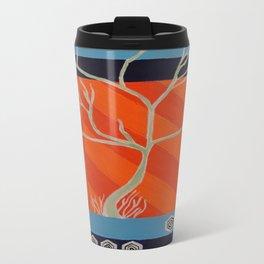 Pop Art Tree Travel Mug