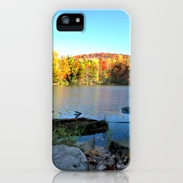 fall bliss iPhone Case