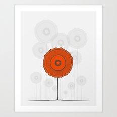 Poppies Poppies Poppies Art Print