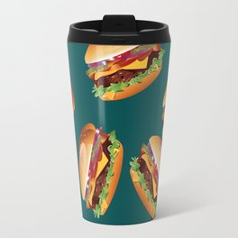 Deluxe Cheeseburger Travel Mug