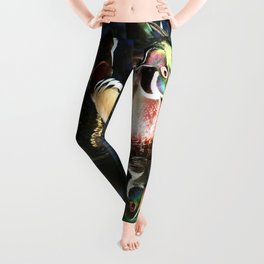 Beautiful Wood Duck Leggings