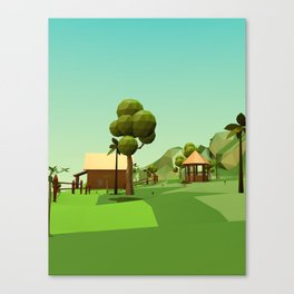 The Farm 3 Canvas Print