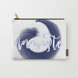 Blue Namaste Carry-All Pouch