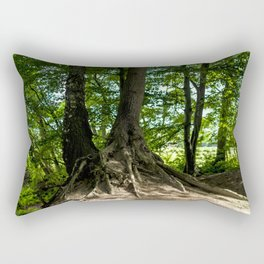 Growing together Rectangular Pillow