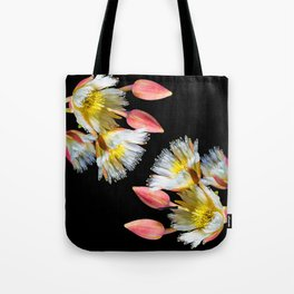 Bold and Wild Flowers Tote Bag