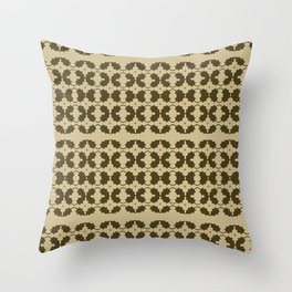 Flowers & Leaves Throw Pillow