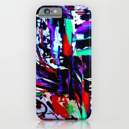 Stress Painting iPhone Case