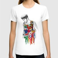 coconutwishes T-shirts featuring Zayn Superhero  by Coconut Wishes