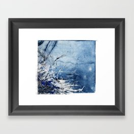 In Stormy Waters Framed Art Print