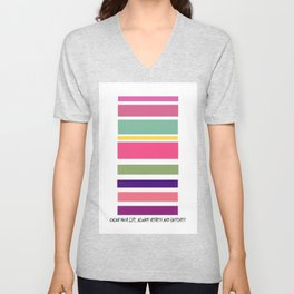 Color Your liFe  Unisex V-Neck