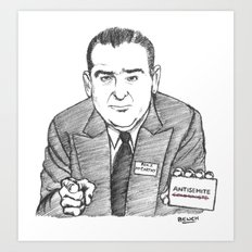 Sénateur Joseph Art Print