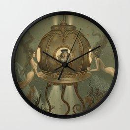 """The Bathysphere"" by David Delamare Wall Clock"