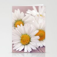 daisies Stationery Cards featuring Daisies. by Mary Berg