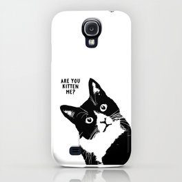 are you kitten me? iPhone Case