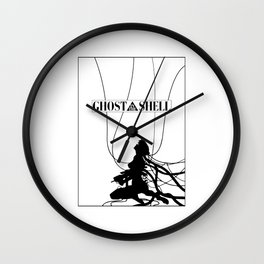 Ghost In The Shell (w/ Frame) Wall Clock