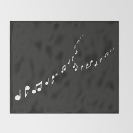 sounds of the night Throw Blanket