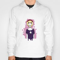 homestuck Hoodies featuring Homestuck Rose by ghostly-fail