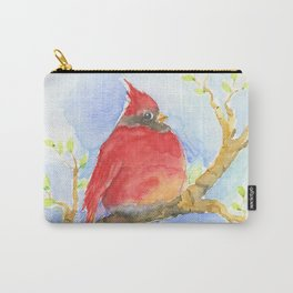 Mr. Cardinal Carry-All Pouch