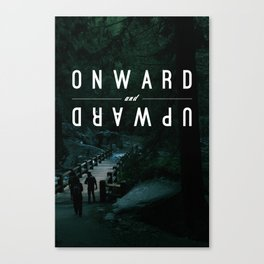 Onward and Upward Canvas Print