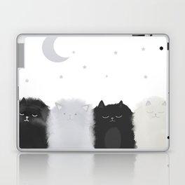 Sleep like Cats Laptop & iPad Skin