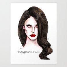 Serial Killer  Art Print