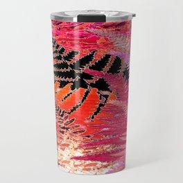Ferns, Morning Blush Travel Mug