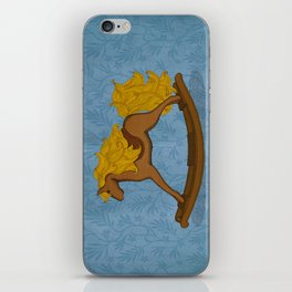 Peta approved racehorse iPhone Skin