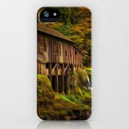 Baroque Cedar Grist Mill iPhone Case