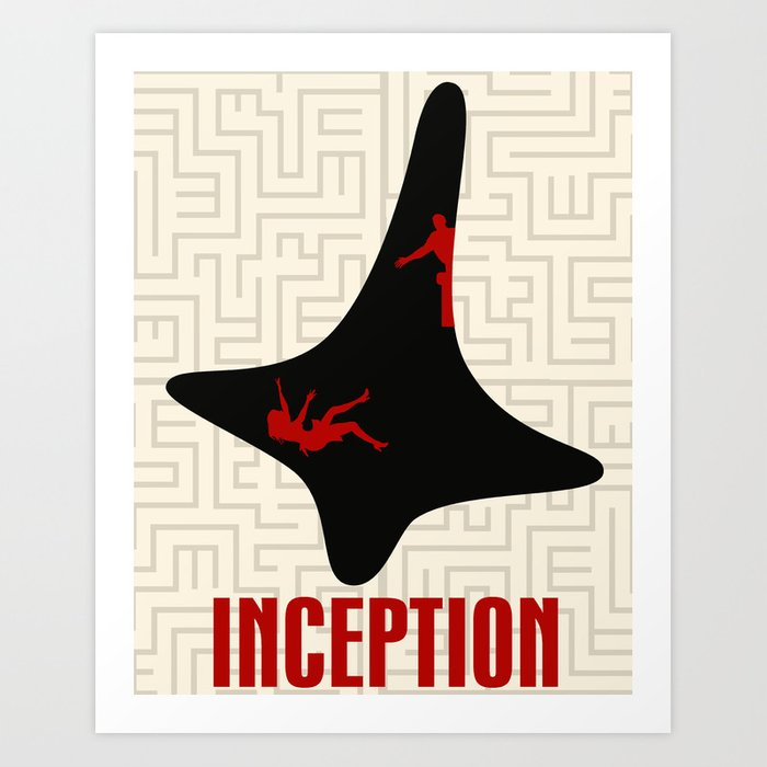 Inception Wallpaper: Inception Art Print By Beware1984