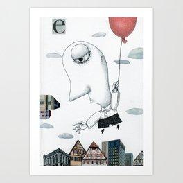 The Escapist Art Print