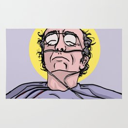 Saint Larry David Rug