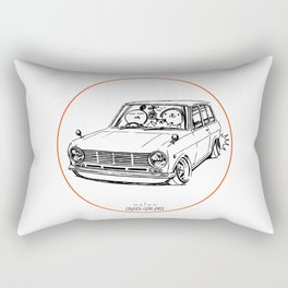Crazy Car Art 0198 Rectangular Pillow