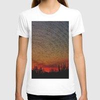 desert T-shirts featuring Desert by RingWaveArt