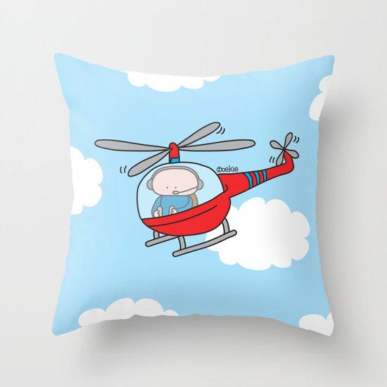 Oekie Street  Throw Pillow