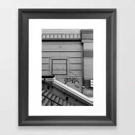 Trying To Just Keep It Real Framed Art Print