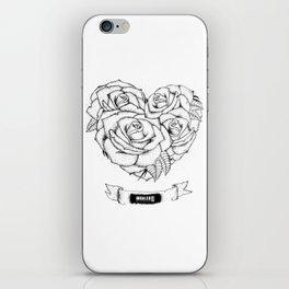 """it was written in blood"" - bmth iPhone Skin"
