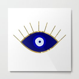 I See You Evil Eye Metal Print