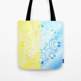 Mandala snowflake Tote Bag