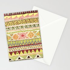 Pizza Pattern Stationery Cards