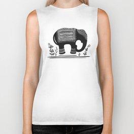 Lucky Elephant Biker Tank