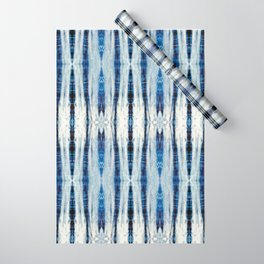 Nori Blue Wrapping Paper