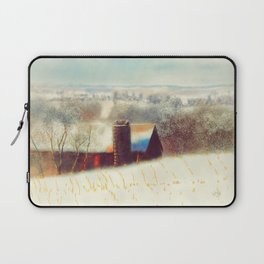The Barn Over The Hill Laptop Sleeve