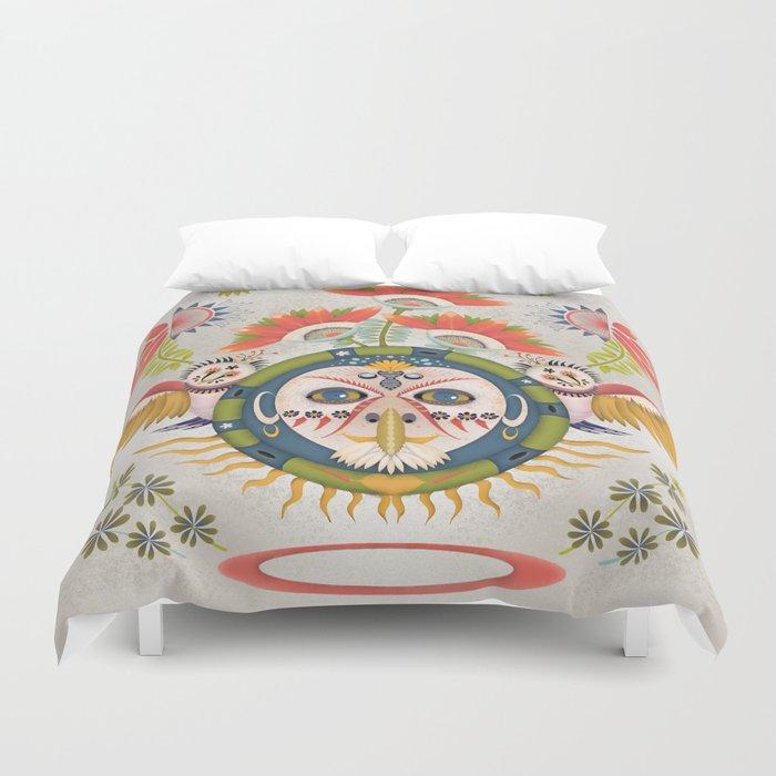 Inca Owl Duvet Cover